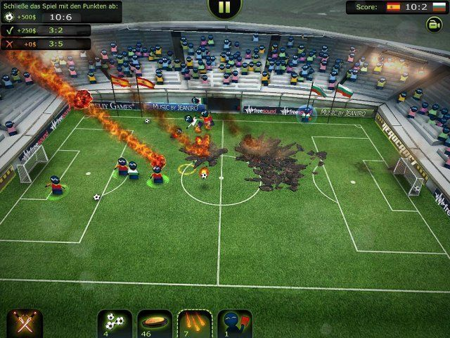 Screenshot  «Foot LOL: Epic Fail League» № 3