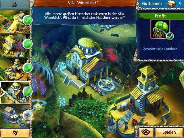 Screenshot  «Jewel Legends: Atlantis» № 6