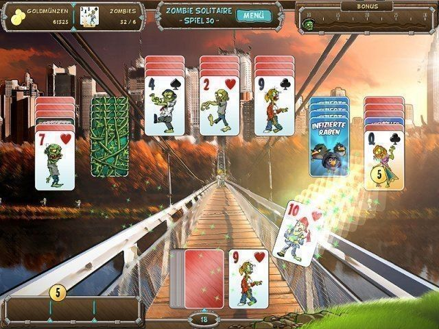 Screenshot  «Zombie Solitaire» № 3